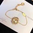 Louis Vuitton レディース ブレスレット ナチュラル感をプラス ルイヴィトン コピー セール ゴールド ストリート 限定品 M68353