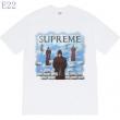 tシャツ メンズ Supreme こなれ感が出す限定品 シュプリーム コピー ブラック ホワイト プリント トレンド お買い得 FW19T33