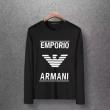 アルマーニ ARMANI 長袖Tシャツ 多色可選 都会的なイメージを与える 2019年秋に買うべき