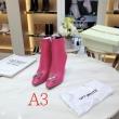 ブランド コピー s 級_Off-White Arrow High Heels Ankle Boots ゆるっとしたコーデにおすすめ オフホワイト レザー ブーツ レディース コピー 最低価格
