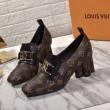 洗練大人味を楽しめるモデル Louis Vuitton レザー ブーツ レディース ルイ ヴィトン 靴 コピー モノグラム 限定品 最高品質