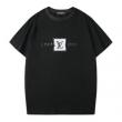 日々のスタイルを軽やかにアップ ルイ ヴィトン2色可選  LOUIS VUITTON 春夏大トレンドデザイン 半袖Tシャツ