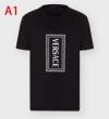 多色可選日常のコーデに徐々に変化  半袖Tシャツ 大人カワイイ着こなし術 ヴェルサーチ  VERSACE