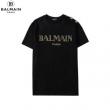 きちんと感ある着こなしに BALMAIN バルマン tシャツ コーデ メンズ コピー ブラック ホワイト 通勤通学 ブランド 品質保証