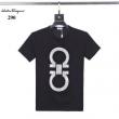 上品なコーデが完成 Tシャツ ブランド スーパーコピー サルヴァトーレフェラガモ Salvatore Ferragamo メンズ 3色 デイリー 安い