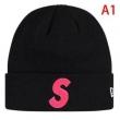 Supreme 19fw x New Era S Logo Beanie 多色可選いつもの着こなしをトレンドに変化  ニット帽/ニットキャップ