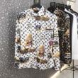 Louis Vuitton シャツ 新作 コーデを魅力的に映るモデル メンズ ルイ ヴィトン コピー 激安 ブラック ホワイト ブランド セール
