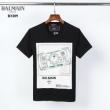 どんなスタイルにも合わせやすい  半袖Tシャツ 2色可選 どんな装いにも馴染む バルマン  BALMAIN