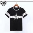 洗練された雰囲気と清潔感を漂わせる  2色可選 半袖Tシャツ 着回し力抜群 ドルチェ&ガッバーナ Dolce&Gabbana