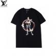 シックで都会的な印象に仕上げる  2色可選 半袖Tシャツ シンプルで柔らかなスタイルルイ ヴィトン LOUIS VUITTON