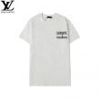 春夏っぽい定番スタイル  ルイ ヴィトン2色可選  LOUIS VUITTON 大人こそ似合う柄が魅力 半袖Tシャツ