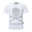 3色可選 春夏トレンドをさりげなく先取り  フィリッププレイン PHILIPP PLEIN 最新トレンドヒント 半袖Tシャツ