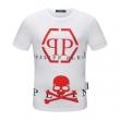 シンプルで柔らかなスタイル  半袖Tシャツ 多色可選 デイリースタイルを軽くなる フィリッププレイン PHILIPP PLEIN