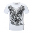 フィリッププレイン 多色可選 どんなスタイルにも合わせやすい PHILIPP PLEIN 半袖Tシャツ どんな装いにも馴染む