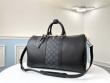 ブランド コピー 安心_Louis Vuitton ボストンバッグ 限定 機能性高い着こなしに ルイヴィトン レディース コピー 黒 レザー おすすめ 最安値 M53763