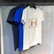 MONCLER GAMME BLEUモンクレール tシャツ コピー8010800ロゴ付きブラックコットン半袖ショートスリーブメンズ