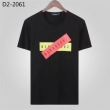 D SQUARED2 メンズ tシャツ 2019SSで極上のアイテム ディースクエアード コピー 上質 ブラック ホワイト リーズナブルなプライス