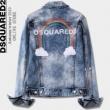 デニムジャケット永遠の定番アイテム  DSQUARED2 ディースクエアード 着こなしに素敵なエッセンス